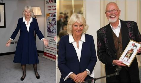 Camilla surprises in chic midi dress at 'remarkable' awards show - 'looking great!'