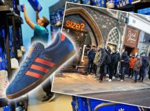 Adidas Dublin trainer