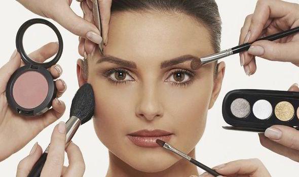 make up hair and