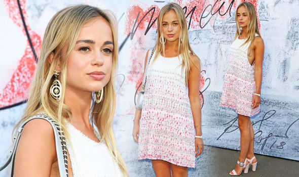 Lady Amelia Windsor: Instagram star with Eugenie and Beatrice at Serpentine Summer Party   Style   Life & Style   Express.co.uk