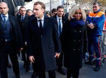 Brigitte Macron Paris terror attacks