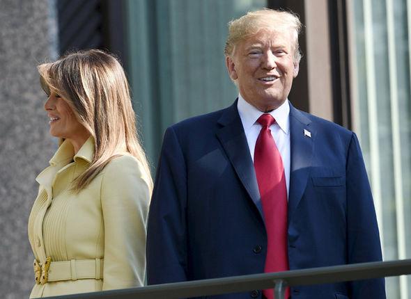 Melania Trump coat style Helsinki
