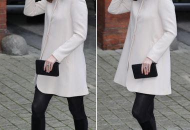 Kate Middleton news: Pregnant Duchess of Cambridge HIDES growing baby bump in large coat