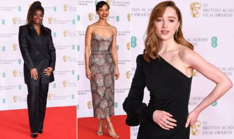 BAFTA red carpet: From bizarre trousers to extreme shoulder pads