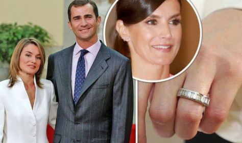 Queen Letizia has 'stunning' diamond engagement ring from Felipe - but she never wears it
