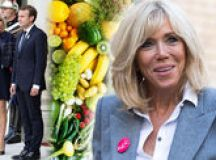 Brigitte Macron wraps up warm as she pays memory to victims of the Paris terror attacks images 2