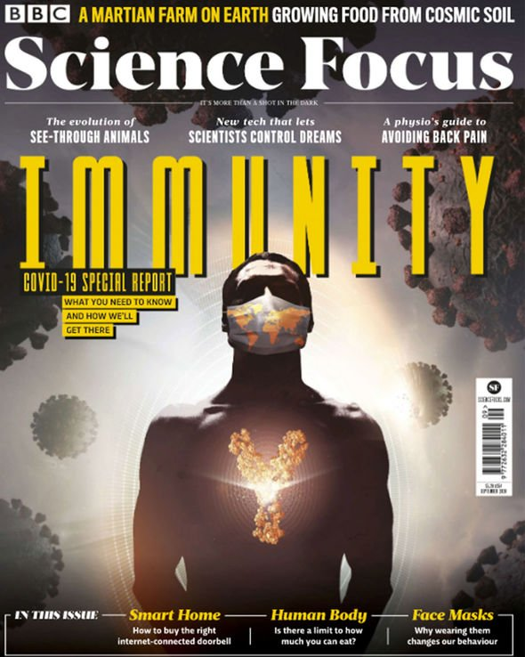 Next month's issue of BBC Science Focus