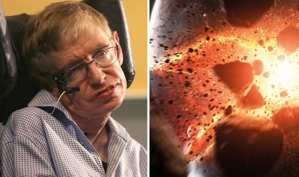 Stephen Hawking has warned the God particle or Higgs boson could cause the end of the world