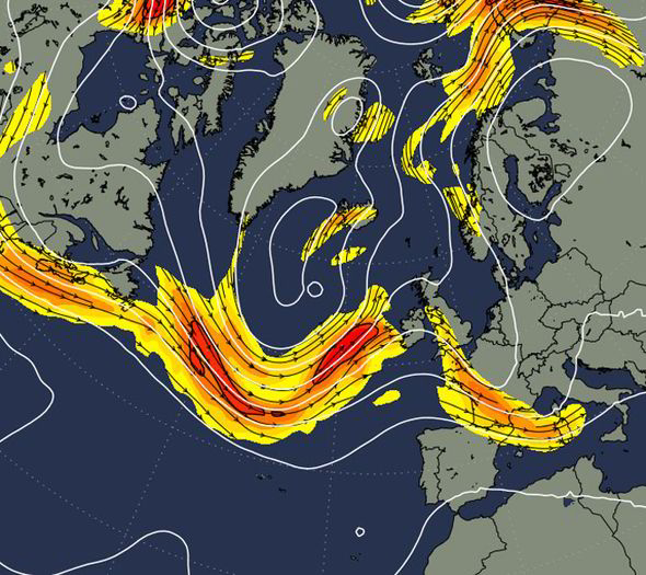 jetstream gives England a heat wave august 2014