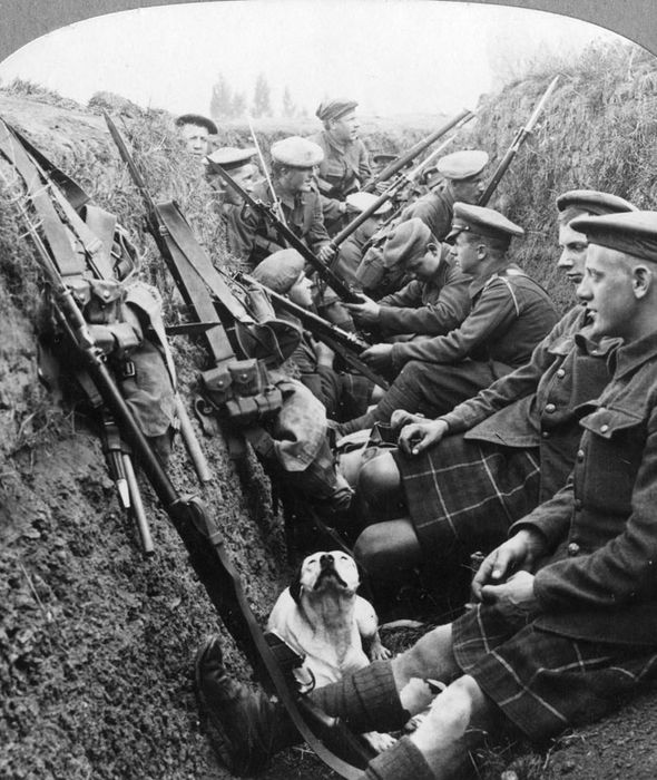 Image result for scottish soldier at war images