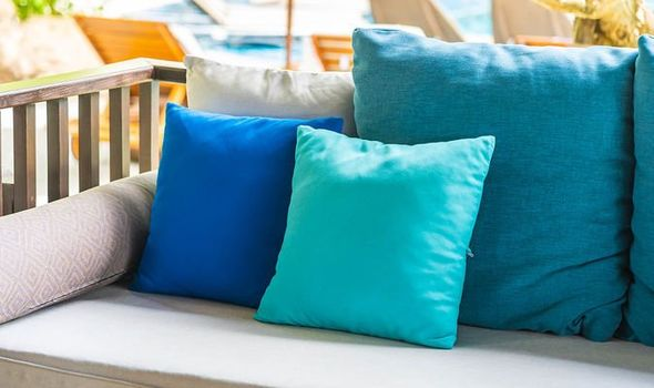 how to clean outdoor cushions express