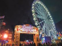 Winter Wonderland: Celebrities flock to London's Christmas event to let their hair down images 2