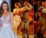Catherine Tyldesley physique language: Star exhibits 'no actual chemistry' with Strictly professional 1181221 1