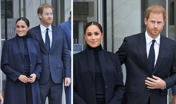 Meghan Markle 'ignored' Harry's 'need for reassurance' in 1st outing since Lilibet's birth