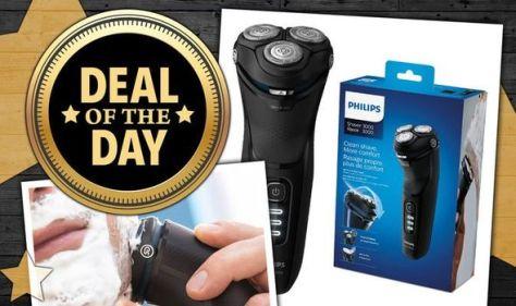 Philips razor sale: Save £70 on the Philips Shaver Series 3000