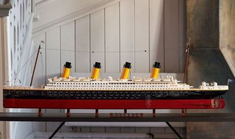 LEGO releases new 9,000-piece Titanic ship model as second largest set - how to get