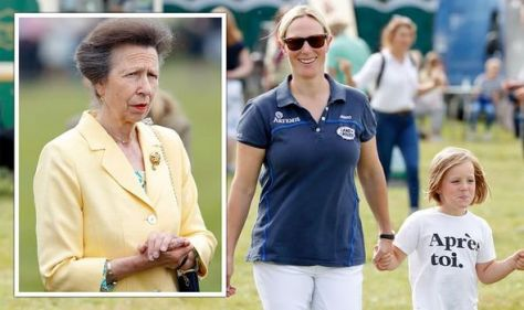 'Normal life as possible': Zara Tindall copies Princess Anne's parenting