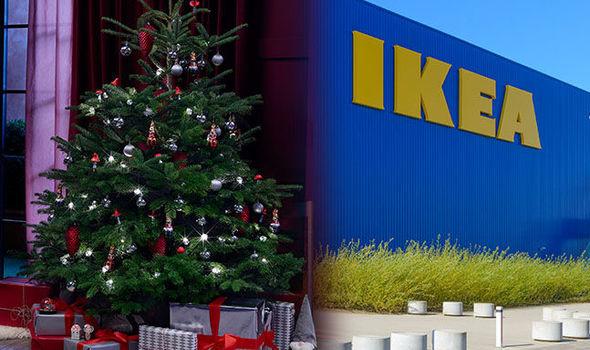 cheapest christmas trees ikea