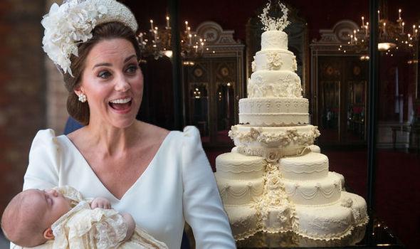 Prince Louis christening cake