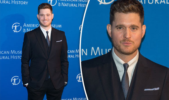 singer michael buble on