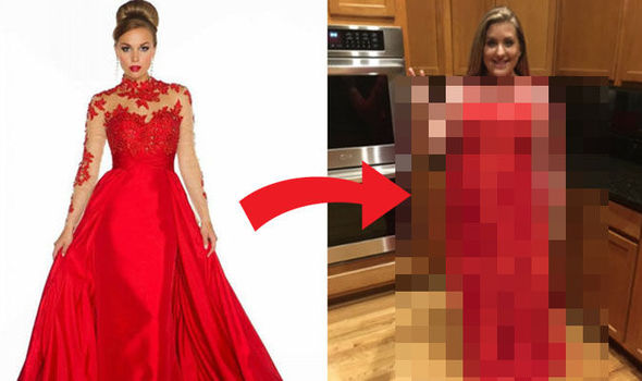 Woman's Online Dress Order Doesn't Live Up To Advert's