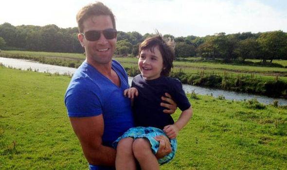Gethin and his nephew Alby