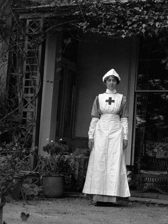 Agatha Christie as a new recruit