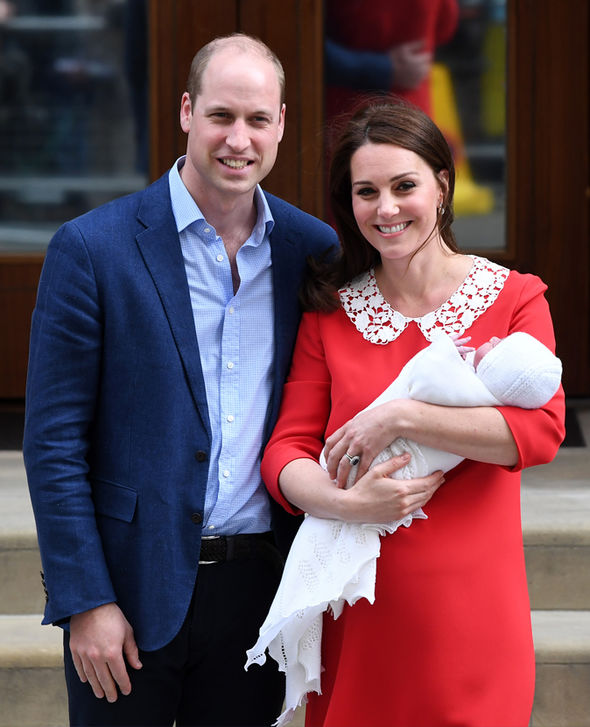 Kate Middleton, Prince William and Louis