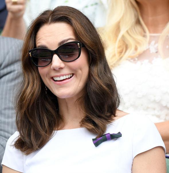 Kate Middleton wearing glasses