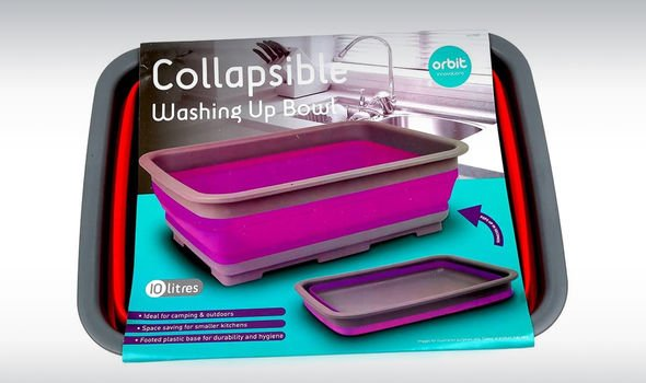 Orbit Innovations Collapsible Washing Up Bowl