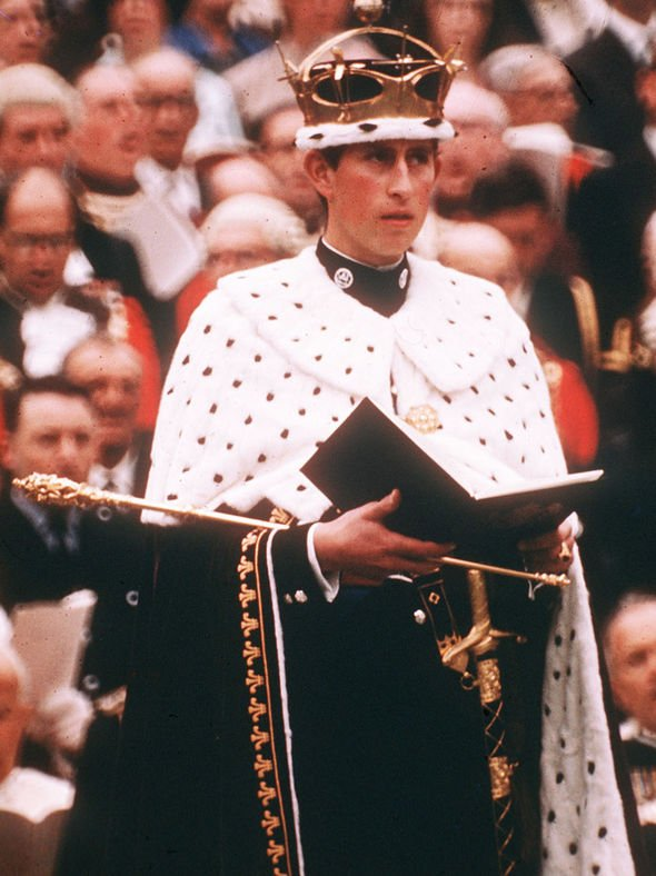 Prince Charles A Look Back At The Investiture Of The