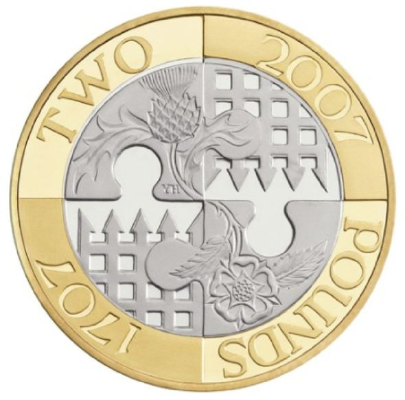 Rare coin on Royal Mint