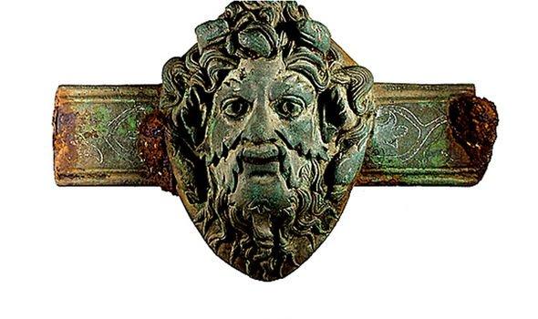 Roman copper furniture fitting