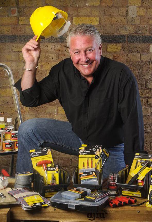 Tommy Walsh on Ground Force and new DIY range with Poundland  Life  Life  Style  Expresscouk