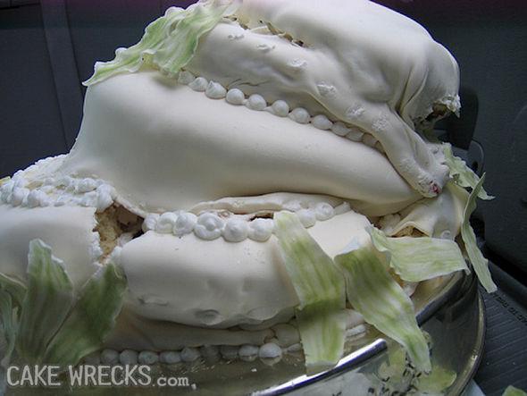 Image result for wedding cake icing melting