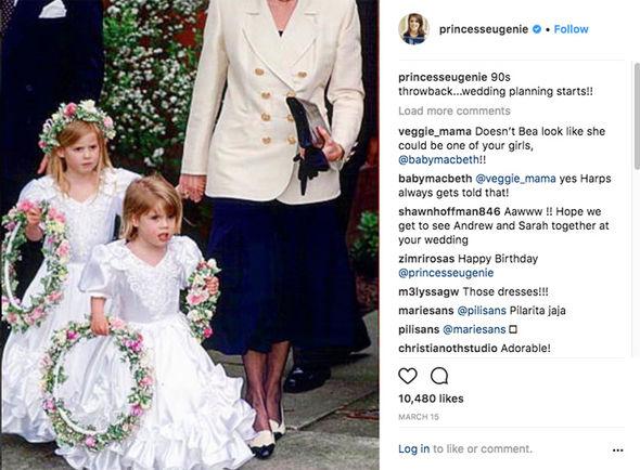 princess eugenie instagram