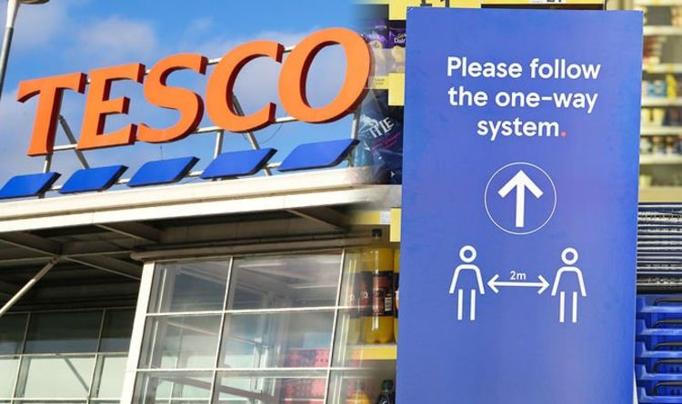 'Stay at home' :Tesco tells shoppers NOT to enter stores - 'shop only when you need to'