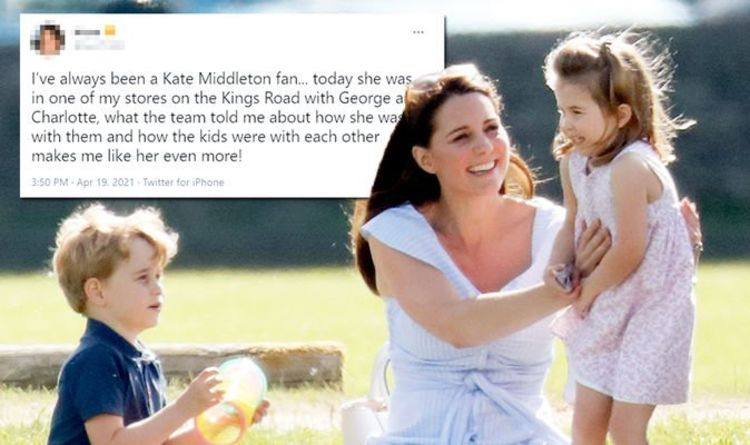 Kate Middleton spotted in Chelsea using parenting trick with George and Charlotte