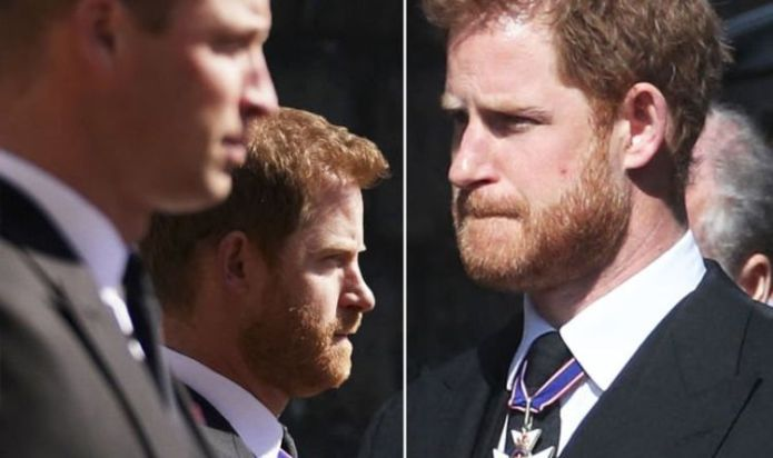 Prince William and Harry at Philip's funeral: 'Tensions undeniably high'