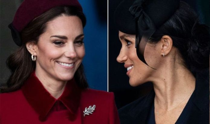 How Kate Middleton and Meghan Markle 'used non-verbal denial' tactic during rift claims
