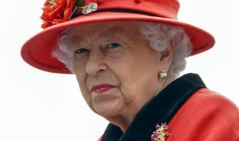 Queen cuts 'terribly poignant' figure as 'she avoids showing emotion' despite Harry attack
