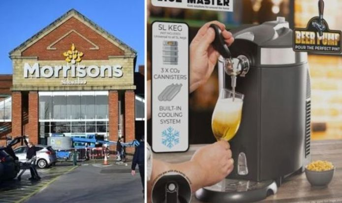 Morrisons launches bargain draught beer pump to pull pints at home ahead of big match