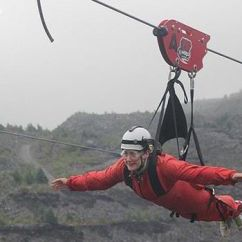 4 Man Zip Wire Wales Digital Rpm Meter Wiring Diagram Get Your Spidey Senses Tingling Be A Superhero For The Day With World Snowdonia