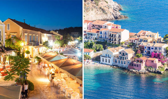 Kefalonia beach holiday