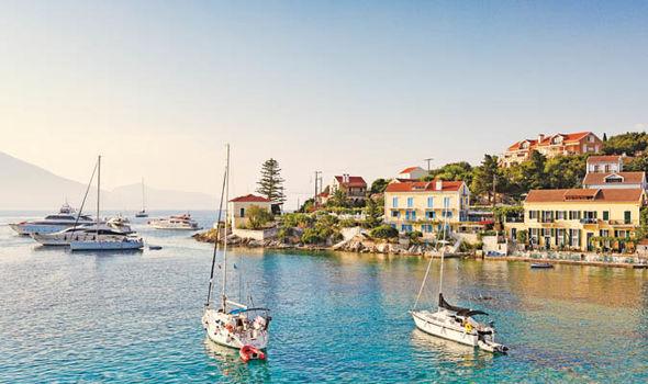Kefalonia boats  Beach holidays don't get much better than the stunning Kefalonia | Beach Holidays | Travel Kefalonia boats 1193404