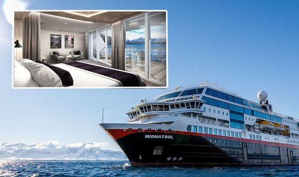 cruise ship firm hurtigruten