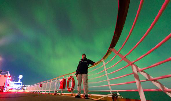 Taking Pictures Northern Lights