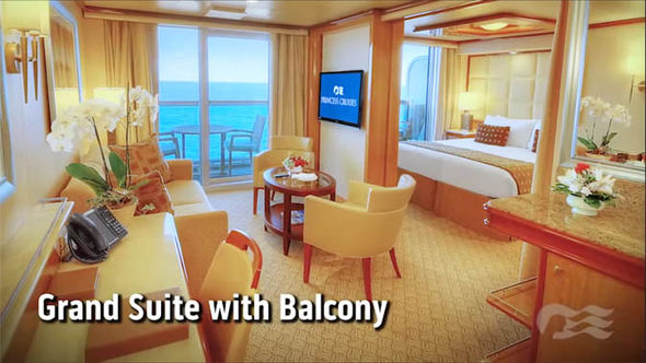 Majestic Princess cruise ship boasts amazing private