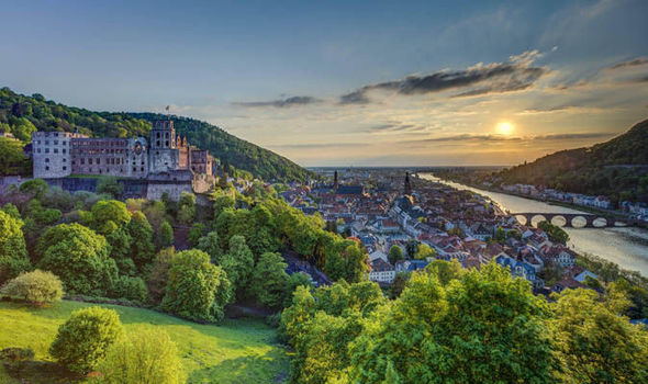 Enjoy the riverside city of Heidelberg in Germany  Short