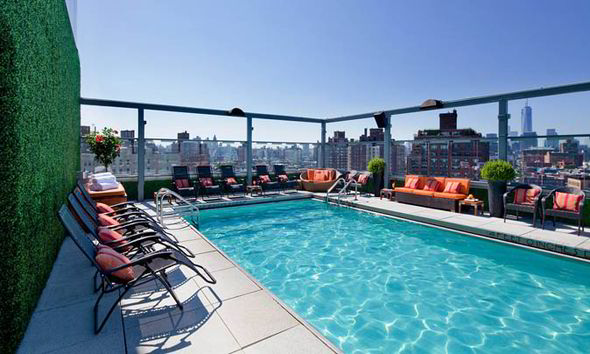 The best hotel rooftop swimming pools in the world and two of them are in London  Short